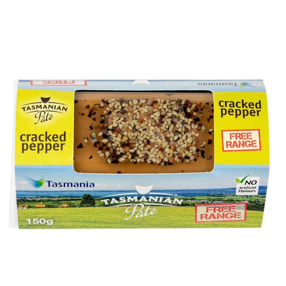 Tasmanian Pate - Cracked Pepper